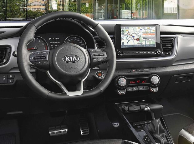 Kia Stonic (2021) mit 48-Volt-Mildhybridsystem