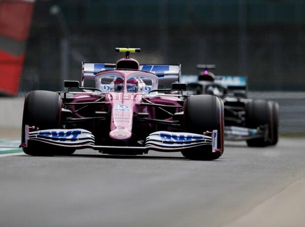 Lance Stroll, Lewis Hamilton