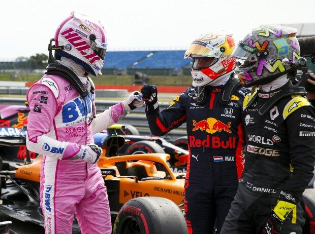 Daniel Ricciardo, Max Verstappen, Nico Hülkenberg