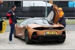 Lando Norris (McLaren) und Alexander Albon (Red Bull)