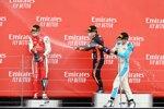 Mick Schumacher (Prema), Yuki Tsunoda (Carlin) und Jack Aitken (Campos)
