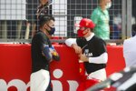 Alexander Albon (Red Bull) und Charles Leclerc (Ferrari)