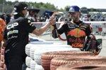 Brad Binder (KTM) und Darryn Binder (CIP)