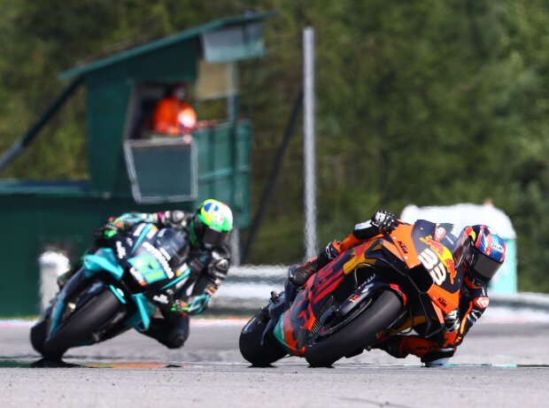 Brad Binder, Franco Morbidelli