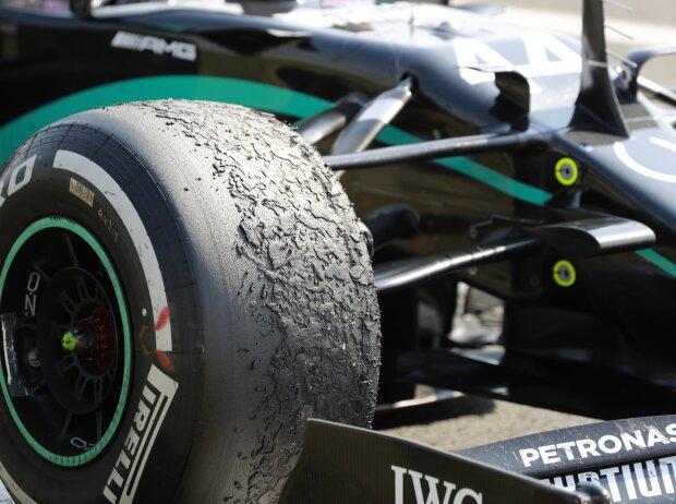 Pirelli-Reifen von Lewis Hamilton