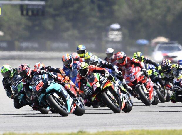 MotoGP Start in Brünn
