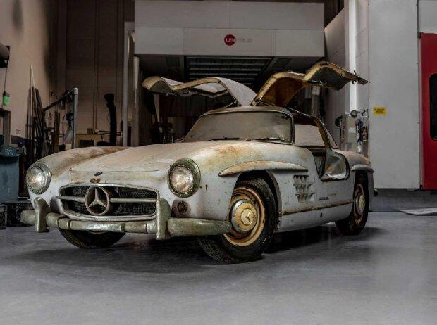 Mercedes 300 SL Scheunenfund