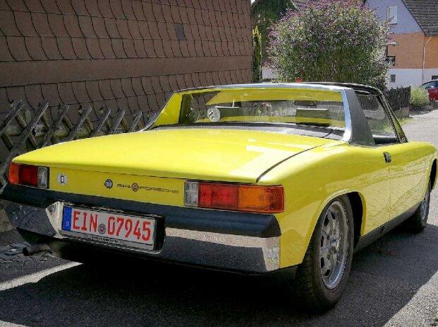 Zeitreise im Porsche-VW 914