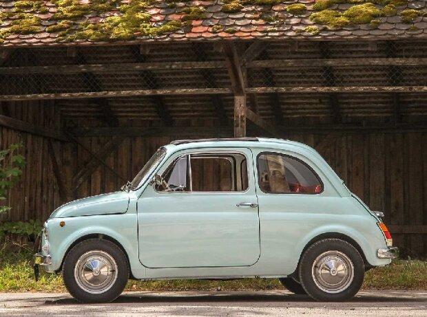Zeitreise im alten Fiat