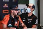 Brad Binder (KTM) und Johann Zarco (Avintia)