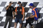 Johann Zarco (Avintia), Brad Binder (KTM) und Miguel Oliveira (Tech 3)