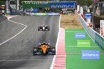 Lando Norris (McLaren) und Romain Grosjean (Haas)