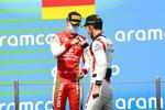 Mick Schumacher (Prema) und Luca Ghiotto (Hitech)