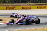 Lance Stroll (Racing Point) und Sergio Perez