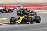 Esteban Ocon (Renault), Alexander Albon (Red Bull) und Carlos Sainz (McLaren)
