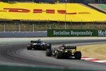 Kevin Magnussen (Haas) und Esteban Ocon (Renault)