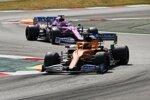 Carlos Sainz (McLaren) und Sergio Perez