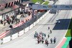 Moto3-Start in Spielberg