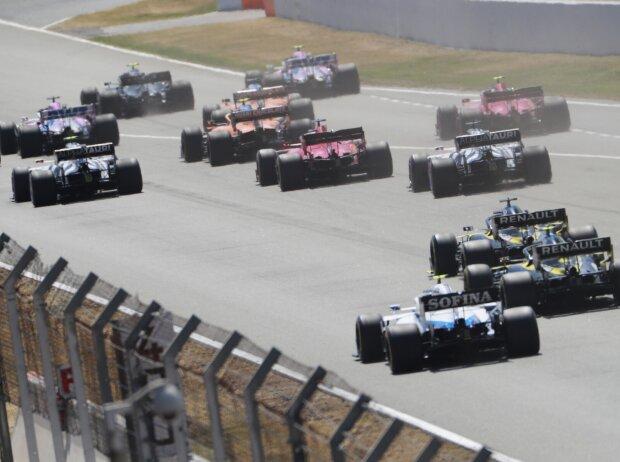 Alexander Albon, Sergio Perez, Valtteri Bottas, Pierre Gasly, Carlos Sainz, Lando Norris