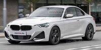2022 BMW 2 Series Coupe rendering front
