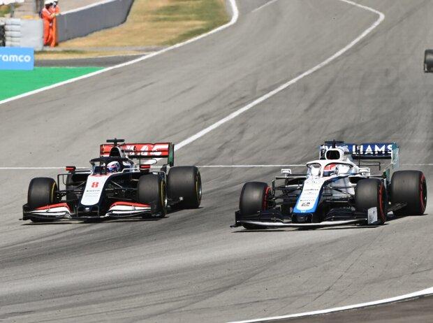 Romain Grosjean, George Russell, Antonio Giovinazzi