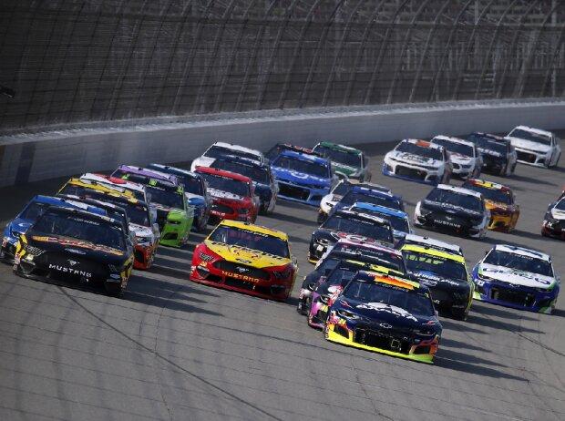 Start zum Consumers Energy 400 auf dem Michigan International Speedway
