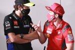 Andrea Dovizioso und Valentino Rossi