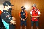 Fabio Quartararo (Petronas), Brad Binder (KTM) und Jack Miller (Pramac)
