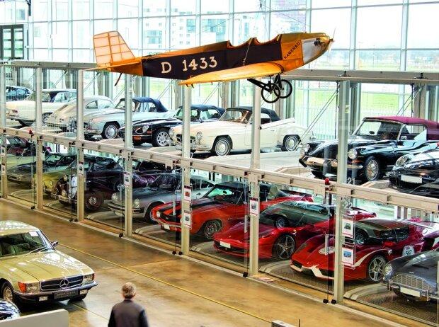 Park-Glasboxen Motorworld Region Stuttgart