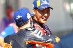 Pol Espargaro (KTM) und Takaaki Nakagami (LCR)