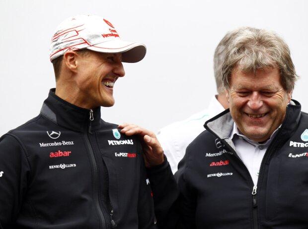 Michael Schumacher, Norbert Haug