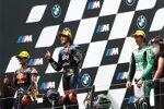 Jorge Martin (KTM Ajo), Marco Bezzecchi (VR46) und Remy Gardner (SAG)