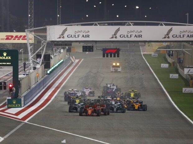 Sebastian Vettel, Charles Leclerc, Lewis Hamilton, Valtteri Bottas, Max Verstappen, Kevin Magnussen