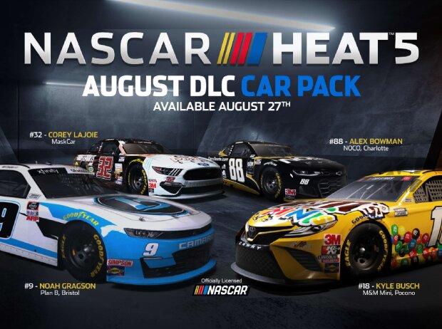 NASCAR Heat 5: August-Erweiterung