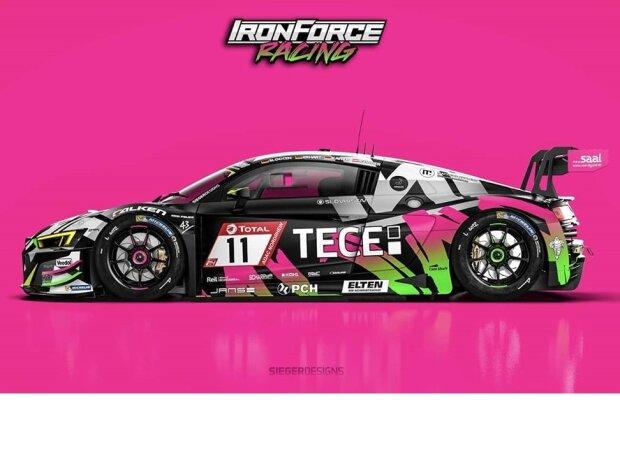 IronForce Racing, Audi R8 LMS, Jan-Erik Slooten