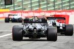 Lando Norris (McLaren), Pierre Gasly (AlphaTauri) und Lewis Hamilton (Mercedes)