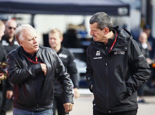 Gene Haas mit Günther Steiner