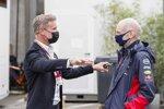 David Coulthard und Adrian Newey