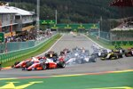 Mick Schumacher (Prema), Robert Schwarzman (Prema), Louis Deletraz (Charouz) und Nobuharu Matsushita (MP Motorsport)