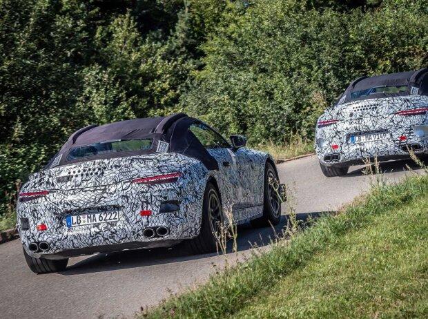 Mercedes-AMG SL auf ersten offiziellen Teaser-Bildern