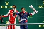 Robert Schwarzman (Prema) und Mick Schumacher (Prema)