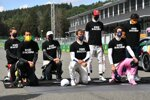 Romain Grosjean (Haas), Daniel Ricciardo (Renault), Valtteri Bottas (Mercedes), Pierre Gasly (AlphaTauri), Antonio Giovinazzi (Alfa Romeo), Lance Stroll (Racing Point) und Carlos Sainz (McLaren)