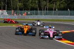 Lance Stroll (Racing Point), Lando Norris (McLaren) und Daniil Kwjat (AlphaTauri)