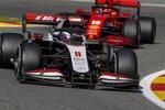 Romain Grosjean (Haas) und Charles Leclerc (Ferrari)