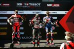 Scott Redding, Jonathan Rea und Michael van der Mark