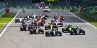 Lewis Hamilton, Valtteri Bottas, Daniel Ricciardo