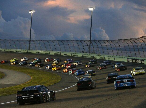 NASCAR-Action auf dem Homestead-Miami Speedway