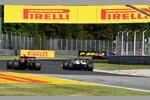 Alexander Albon (Red Bull) und Romain Grosjean (Haas)