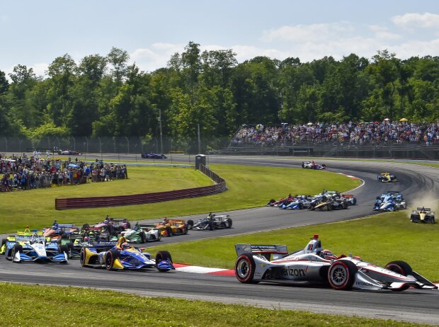 Start zum Honda Indy 200 in Mid-Ohio 2019