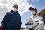 Gerhard Berger und Lucas Auer (RMG-BMW)